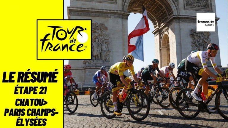 Tour de France 2021. Van Aert triple la mise, Pogacar remporte le maillot jaune