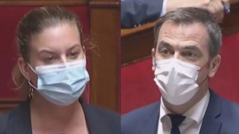 Une députée confronte Olivier Véran sur l'obligation vaccinale à l'Assemblée nationale