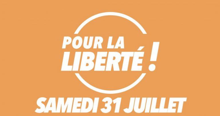 Manifestation contre le pass sanitaire. La liste des manifestations et rassemblements partout en France