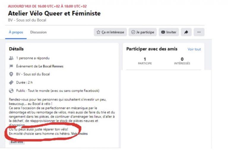 Rennes: des ateliers «vélos queers en non-mixité»
