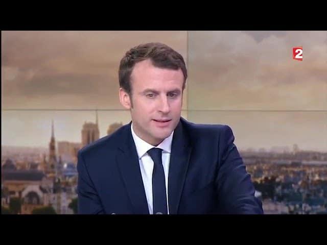 Un mensonge de plus ? Quand Emmanuel Macron indiquait « qu'un ministre doit quitter le gouvernement lorsqu'il est mis en examen…»
