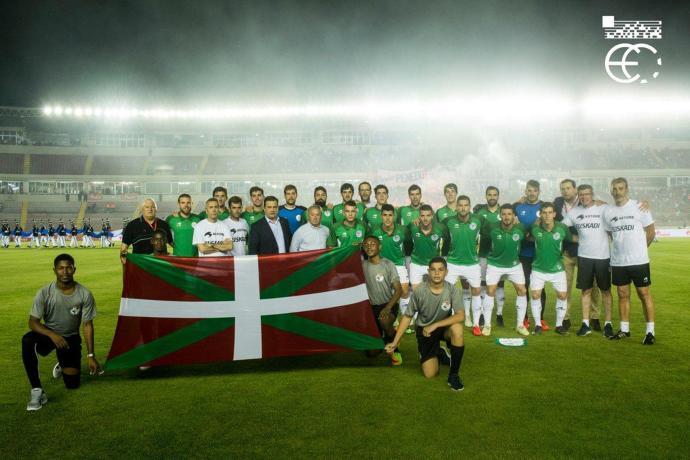Football: l'UEFA rejette la sélection basque