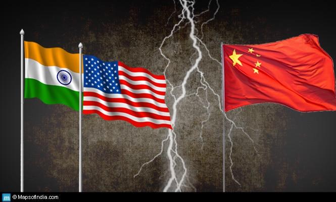 Chine. L'Inde maintient une position internationale pragmatique, mais les États-Unis exigent un alignement plus fort.
