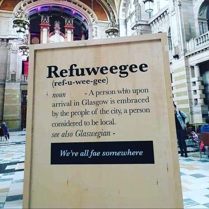 Glasgow : ur «Welcome Pack» evit an alouberien