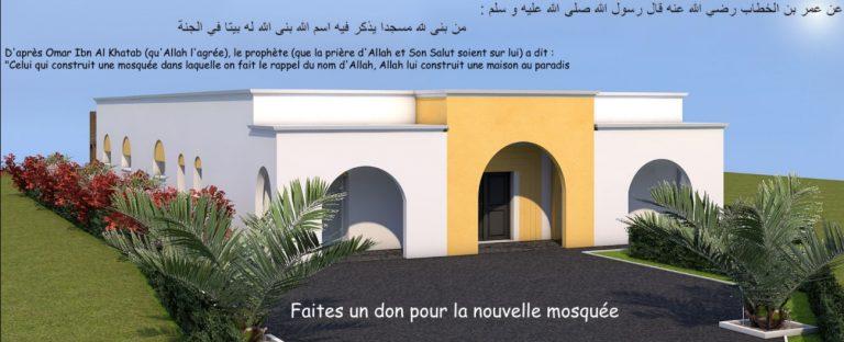 Guingamp : les premiers murs de la mosquée ont été érigés