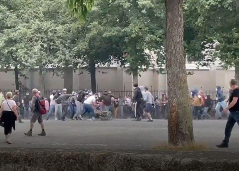 Nantes. La manifestation contre le pass sanitaire attaquée par l'extrême gauche [Témoignage exclusif]