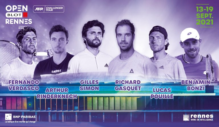 Tennis. Gasquet, Simon, Pouille, Rinderknech à la 15e édition de l'Open BLOT Rennes