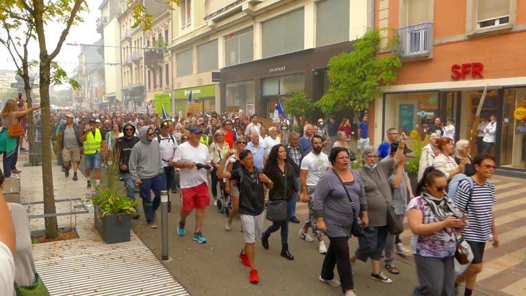 Manifestation contre le Pass sanitaire le 14 août : les points de rassemblements en Bretagne et en France