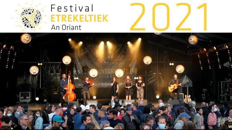 Live Scène Bretagne du samedi 7 août – Festival Interceltique de Lorient 2021