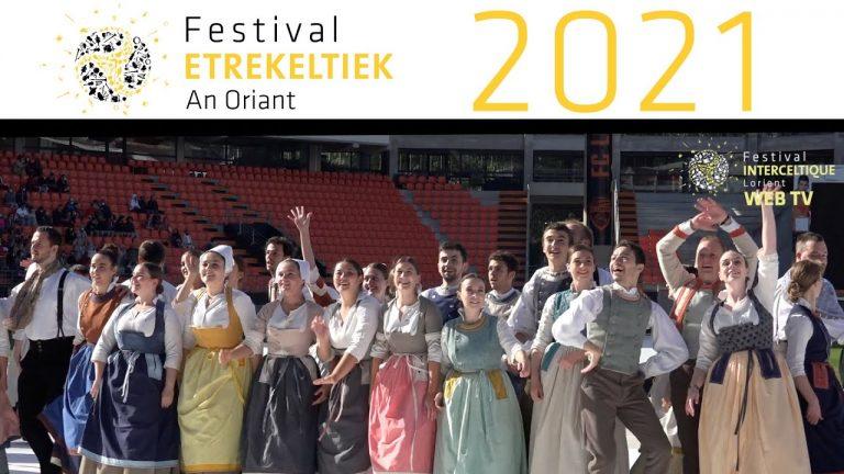 Ridicule. La Grande Parade du Festival Interceltique de Lorient 2021 à huis clos