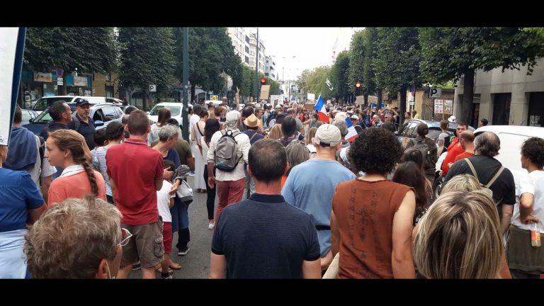 Passe sanitaire. La mobilisation contre la tyrannie sanitaire s'est poursuivie partout en Bretagne, en France et en Europe samedi 28 août