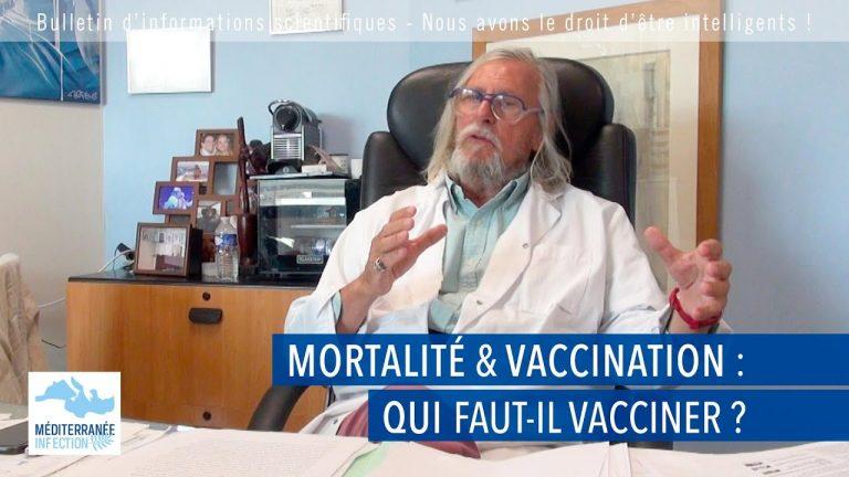 Covid-19. Mortalité et vaccination : qui faut-il vacciner ?
