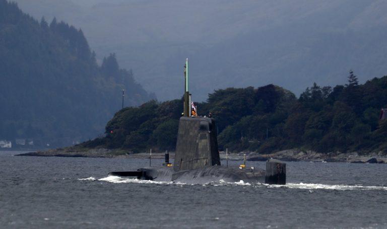 L'indépendance de l'Écosse pose un problème pour les installations d'armes nucléaires du Royaume-Uni