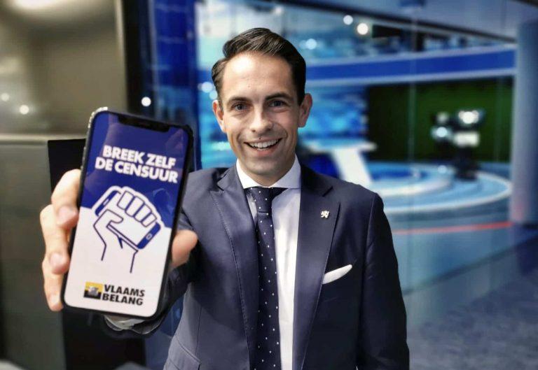 Flandre. Le Vlaams Belang lance sa propre application pour « briser la censure » [Vidéo]
