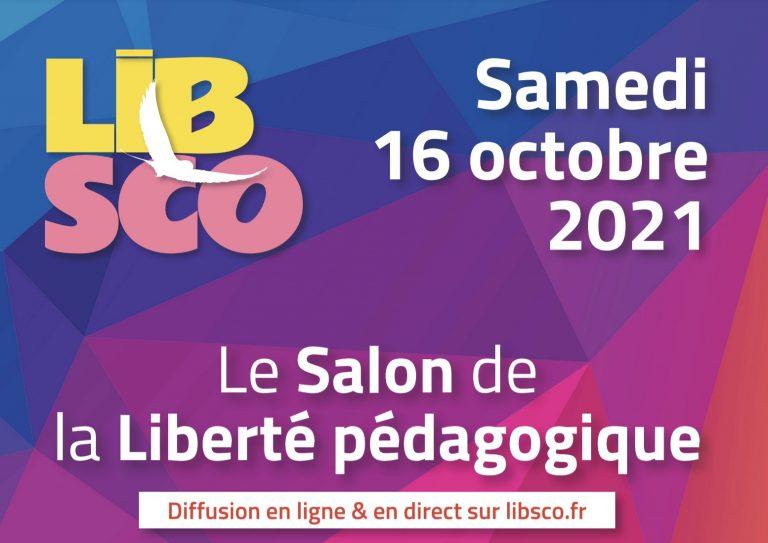 Instruction. Le salon de la liberté pédagogique, le 16 octobre en visio conférence