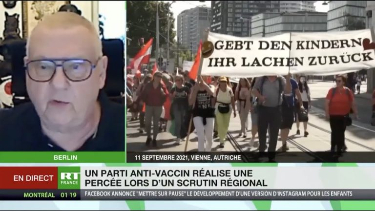 Autriche. Percée d'un parti contre la tyrannie sanitaire en Haute-Autriche (nord du pays).