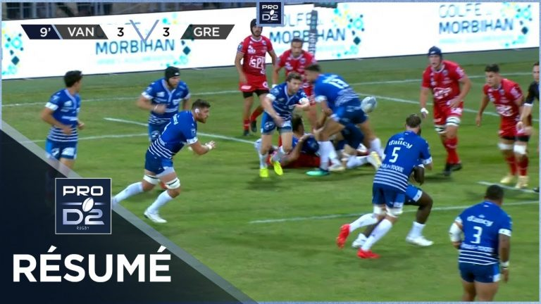 Rugby. Le RC Vannes enchaine une deuxième défaite en deux matchs face à Grenoble (33-38)