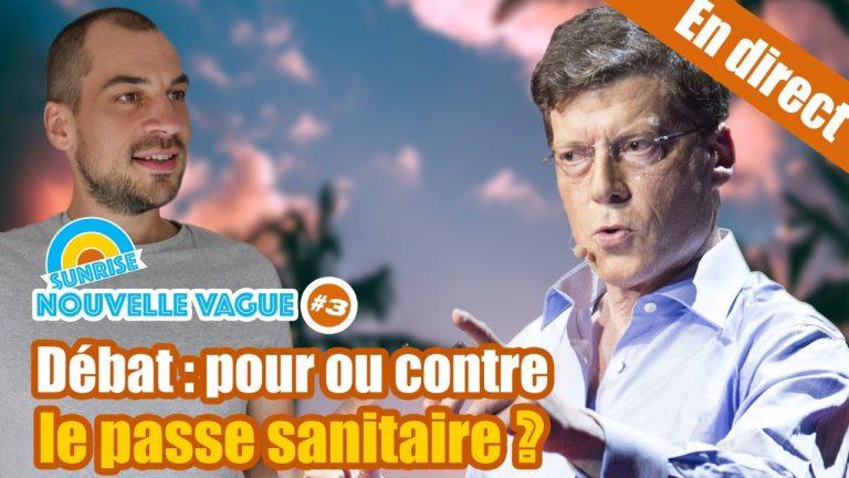 Nouvelle Vague #3 avec Laurent Alexandre – Pour ou contre le passe sanitaire ?