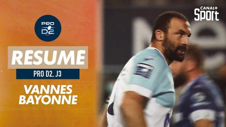 Rugby. Troisième défaite consécutive pour le RC Vannes face à Bayonne