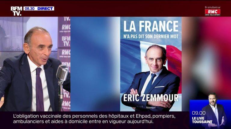 Eric Zemmour : « A la fin du mandat de Macron, 2 millions d'immigrés, en majorité venant d'Afrique et du Maghreb, seront entrés en France. Il faut inverser ce flux »