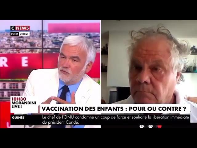 Jean-Michel Claverie : « Vacciner les enfants pour ne pas avoir à vacciner les 80 ans […] c'est comme demander aux gens qui ne font pas de vélo de porter un casque »