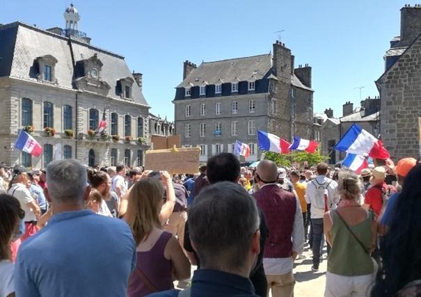 Tyrannie sanitaire. « Trop, c'est trop ! ». Un nouvel appel à manifester à Saint-Brieuc, samedi 25 septembre