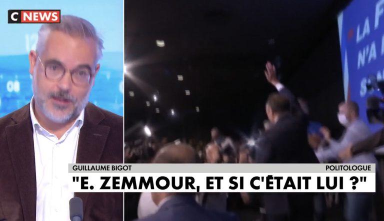 Guillaume Bigot : « Eric Zemmour, et si c'était lui ? »