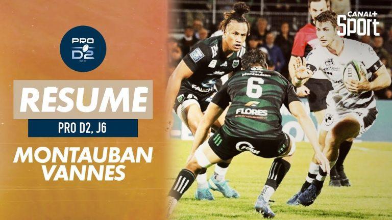Rugby. A Montauban, le RC Vannes s'incline pour la sixième fois en 6 rencontres